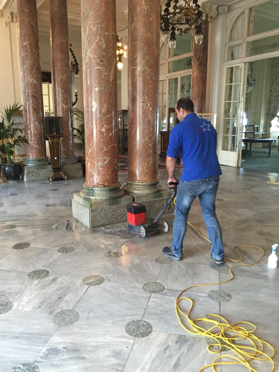 Nettoyage Sol nettoyage de marbres - Nettoyage industriel Wonder Cleaner-1