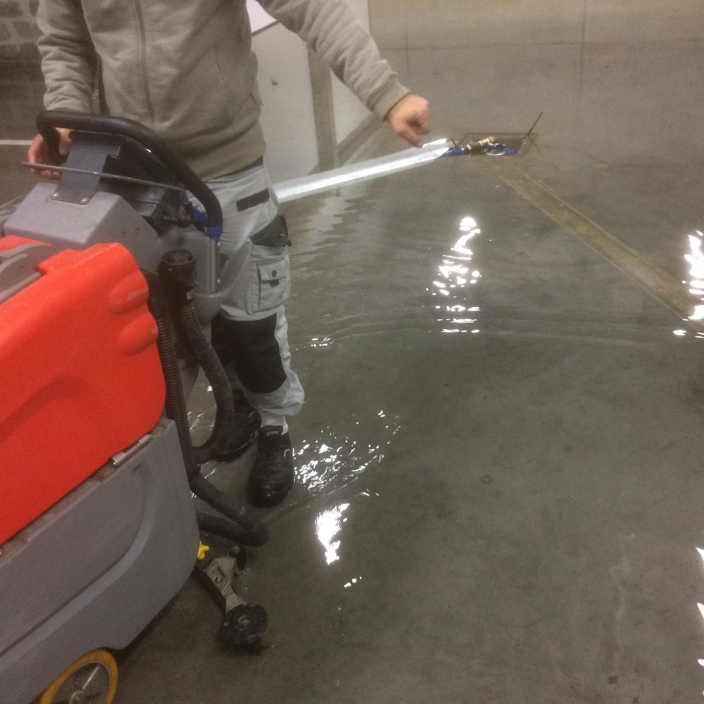 Nettoyage de parking et souterrains à Bayonne, Anglet, Biarritz, Pau et alentours 64 et 40-12
